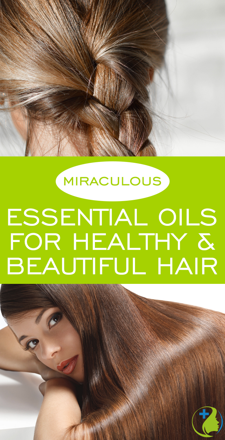 Have you used essential oils for hair growth and health? These 6 miraculous oils naturally treat dry, thin or dull hair as well as promoting hair growth. Here's my full guide and recipes!