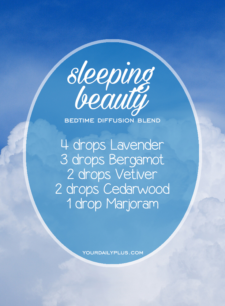 Having trouble sleeping? Try these essential oils for deep sleep that promote relaxation and a restful sleeping environment. Sleeping Beauty diffusion blend with Lavender, Bergamot, Vetiver, Cedarwood and Marjoram.