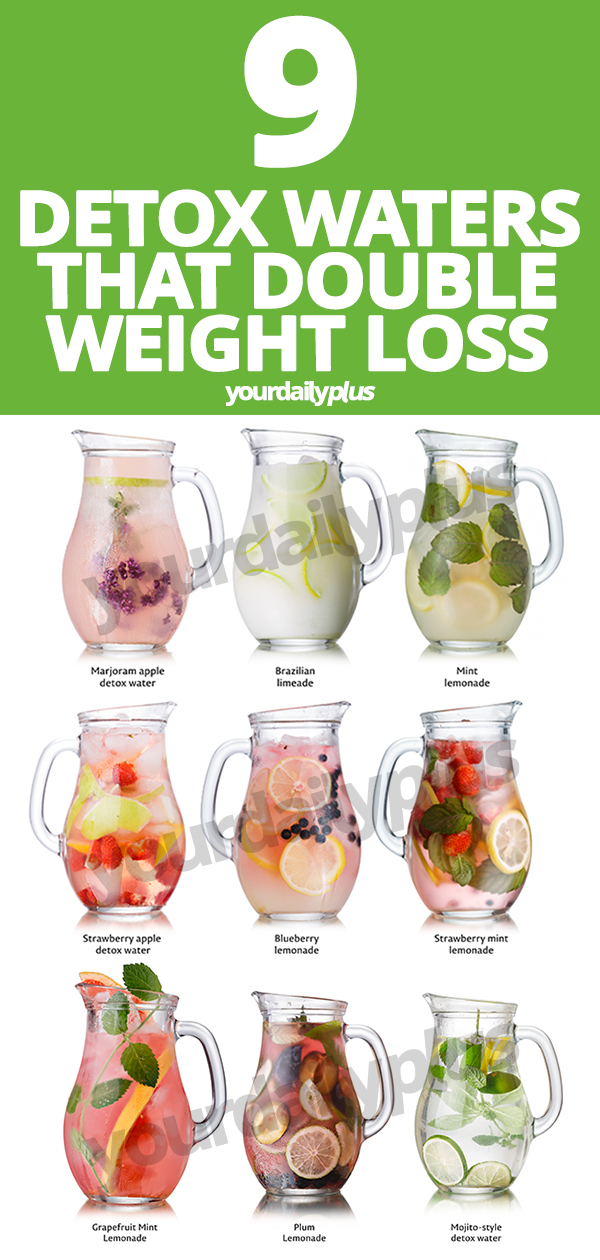 These incredible detox water recipes not only help with bloating and digestion but can DOUBLE your weight loss for that flat tummy of your dreams. They also have anti-aging benefits and much, much more! #detoxwater #detoxdrinks #detoxwaterrecipes #detoxwaterchallenge