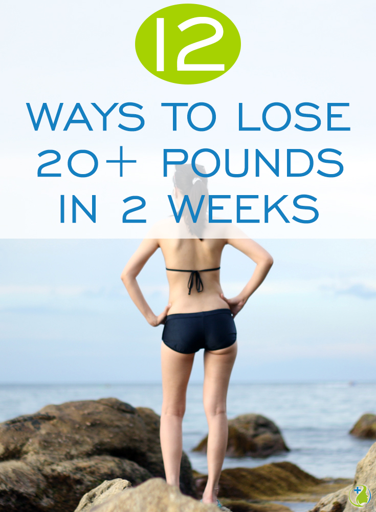 If you think it's impossible to drop 20+ pounds in 2 weeks then you need to read this article. No magic pills, insane diets or crazy fads – simply pick four of the fitness expert and nutritionist secrets that follow and add them to your schedule for the next 14 days.