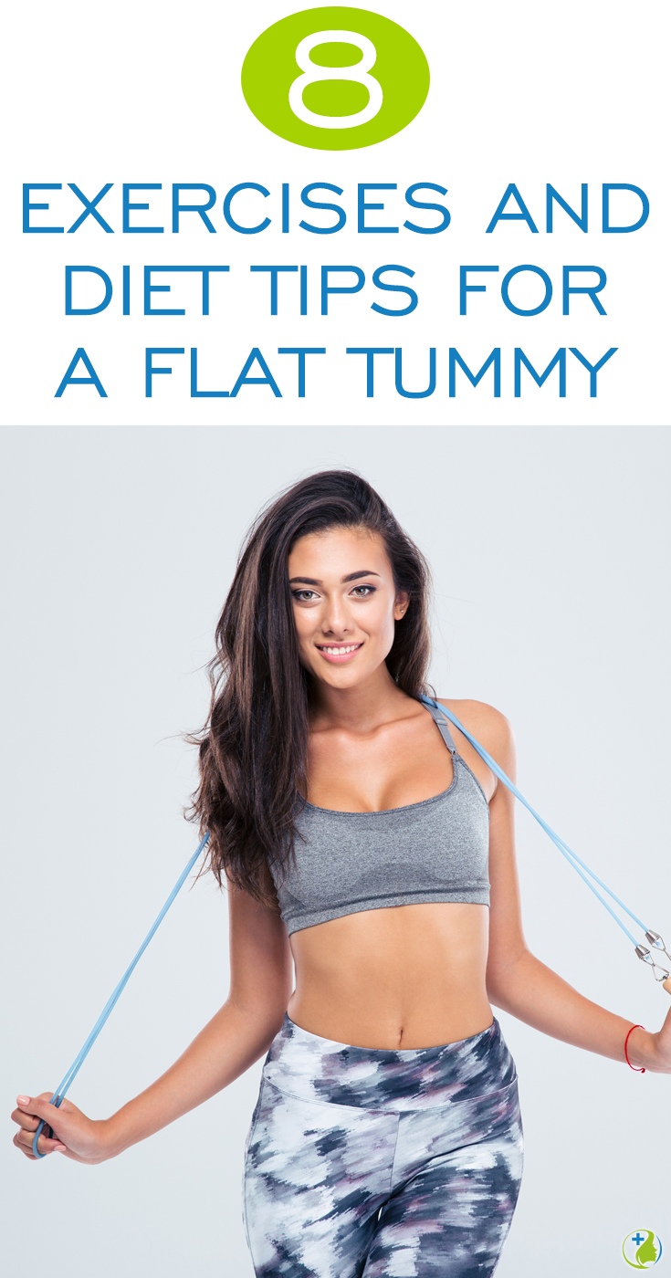 Follow this incredibly in depth guide with exercises and diet tips to get a flat tummy. The secret method of combining these incredible 3 abdominal exercises with cardio really tightens and tones your tummy!