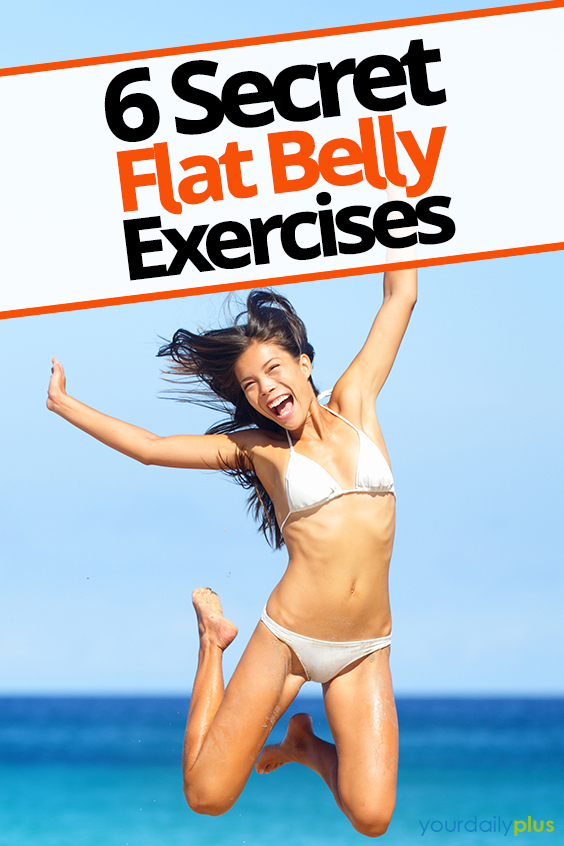 Looking for the ultimate flat tummy workout? This routine destroys fat with a combination of flat belly exercises!