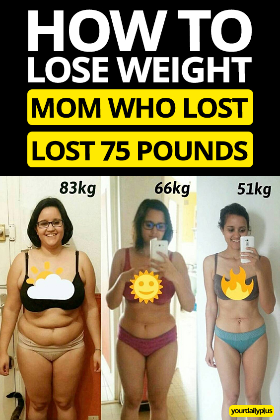INCREDIBLE weight loss! This mother of 3 lost over 75 pounds while improving her strength, flexibility and mental health.