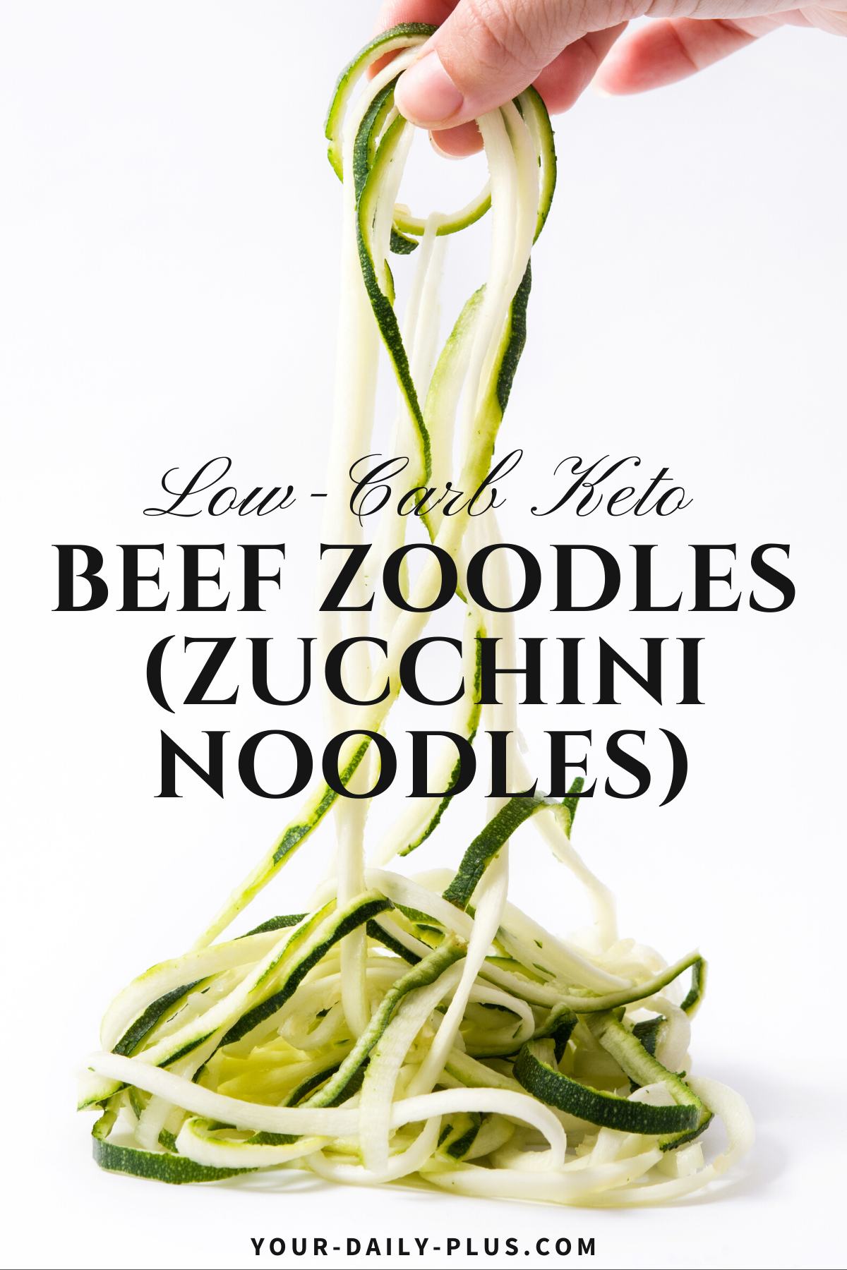 You're going to love these creamy noodles that are all Keto and full of flavor. We've subbed traditional noodles with zucchini noodles for bold flavor but a totally noodle texture. The noodles are paired with creamy coconut milk for a totally beefy sauce you'll love.